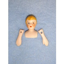 "|Porcelain - Boy - 1 1_4"""