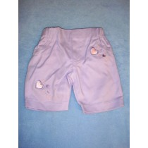"|Purple Capris - 19"" Doll"