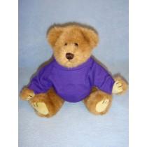 "|Purple T-Shirt for 12"" Bear"