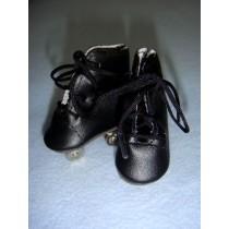 " Roller Skates - 2"" Black"