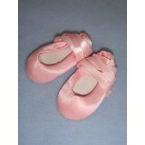 "|Shoe - Ballet Slipper - 2 1_2"" Pink"