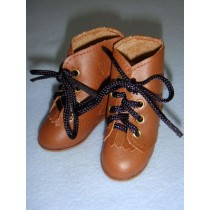 "|Shoe - Hiking Boots - 3 1_8"" Brown"