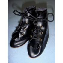 "|Shoe - Hiking Boots - 4 1_4"" Black"