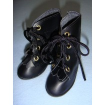 "|Shoe - Hiking Boots - 4 1_8"" Black"