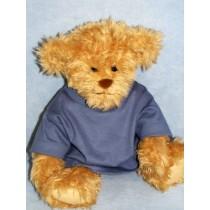 " T-Shirt - fits 28"" Bear-Blue Denim"