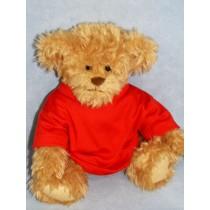 "|T-Shirt - fits 28"" Bear - Red"