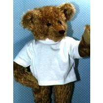 " T-Shirt - fits 28"" Bear - White"