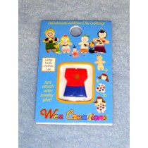 |WC Adult Outfit - Red Top w_Yellow Sun & Blue Pants
