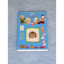 |WC Girl Face - Tan Skin - Brown Short Hair