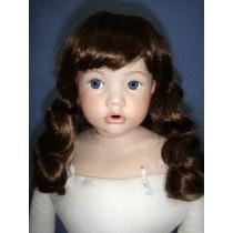 "|Wig - Andrea - 8-9"" Light Brown"