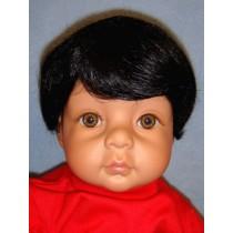 " Wig - Baby_Boy - 16-17"" Black"
