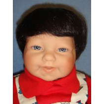 """ Wig - Baby_Boy - 16-17"""" Dark Brown"""
