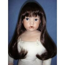 """ Wig - Danielle - 16-17"""" Dark Brown"""