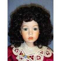 """ Wig - Heather - 14-15"""" Dark Brown"""