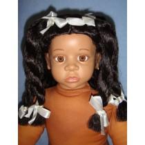 """ Wig - Koko - 16-17"""" Brown_Black"""