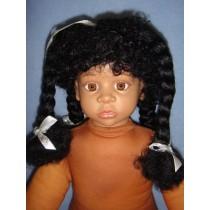 " Wig - Maya - 16-17"" Black"