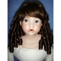 "|Wig - Paula - 7-8"" Light Brown"