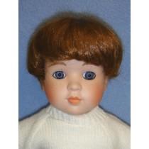 "|Wig - Short Boy - 9"" Brown"
