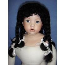""" Wig - Tammy - 16-17"""" Black"""