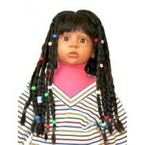 "|Wig - Tanisha - 10-11"" Black"