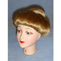 "|Wig w_Bun - 7-8"" Blond"