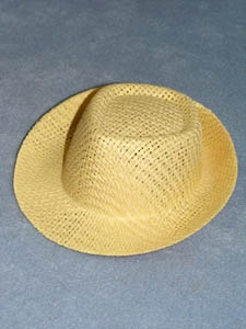 Fedora Molded Straw