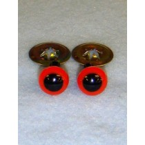 Animal Eye - 7.5mm Red Pkg_100