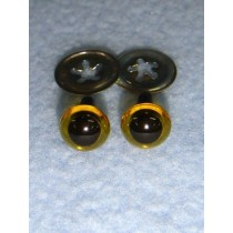 Animal Eye - 6mm New Yellow Pkg_100