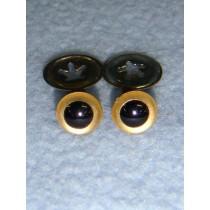 Animal Eye - 6mm Gold Pkg_100