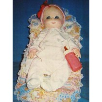 0 - 3 Month Baby Cloth Doll Pattern