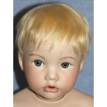 "10""-11"" Mohair Cassidy Wig - Pale Blond"