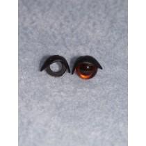 10mm Black Eyelids - Pkg_5 pr