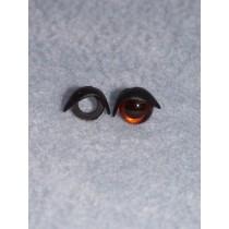 10mm Black Eyelids - Pkg_25 pair