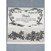 10mm Petals - Crystal