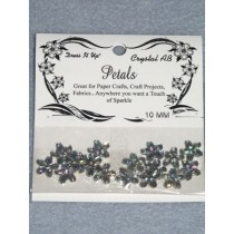 10mm Petals - Crystal