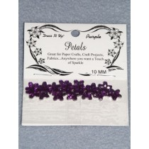 10mm Petals - Purple