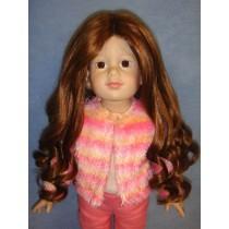 "11-12"" Auburn Roxanne Wig"