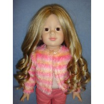 "|11-12"" Blond w_Highlights Roxanne Wig"