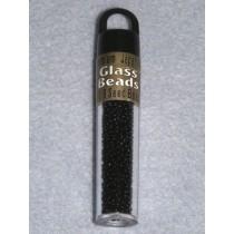 11_0 Black Japanese Glass Bead-10gr