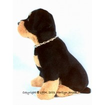 "12"" Sitting Rottweiler Pup Pattern"