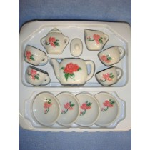 13 Pc Tea Set