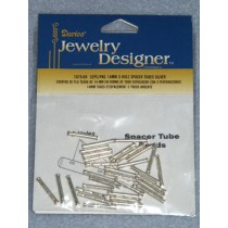 14mm Nickel 3 Hole Space Tubes - pkg_32