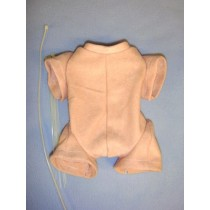 "15-17"" Pre-Sewn Suede Jointed Preemie Doll Body"
