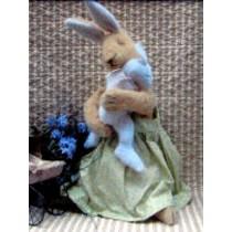 "15"" Mama w_Baby Bunny Pattern"