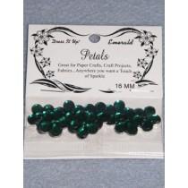 16mm Petals - Emerald