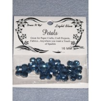16mm Petals - Light Blue