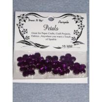 16mm Petals - Purple