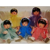 "18"" Dionne Quints Cloth Doll Pattern"