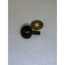 18mm Black Ball Noses - Pkg_50