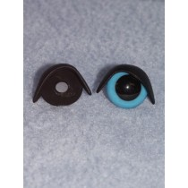 18mm Black Eyelids -pair Pkg_25